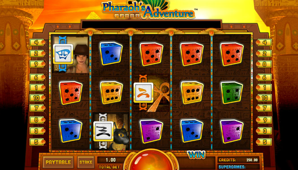 jouer à la Dice Slot Pharaohs Adventure