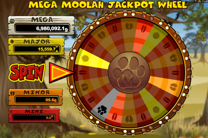 Jackpot Mega Moolha Wheel Of Fortune