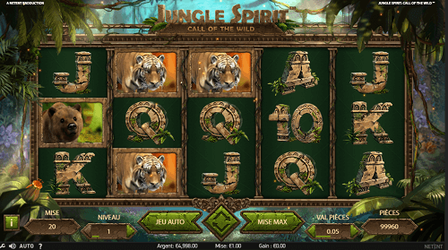 NetEnt dévoile Jungle Spirit Call Of The Wild™