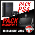 Packs PS4 à gagner chez Circus Casino