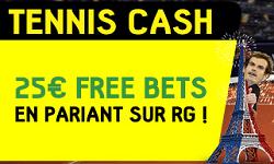 Paris sportifs gratuits Roland Garros 2017