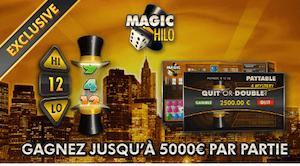 Tester le nouveau jeu de dés Magic Hilo