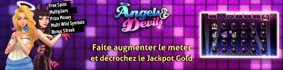 Nouvelle dice streak slot angels and devils