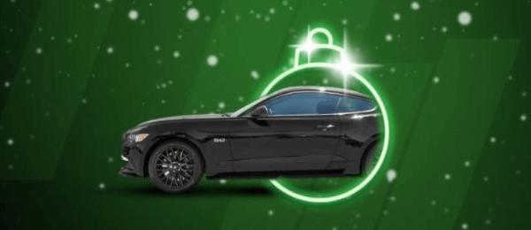 Gagner une Ford Mustang avec Unibet casino