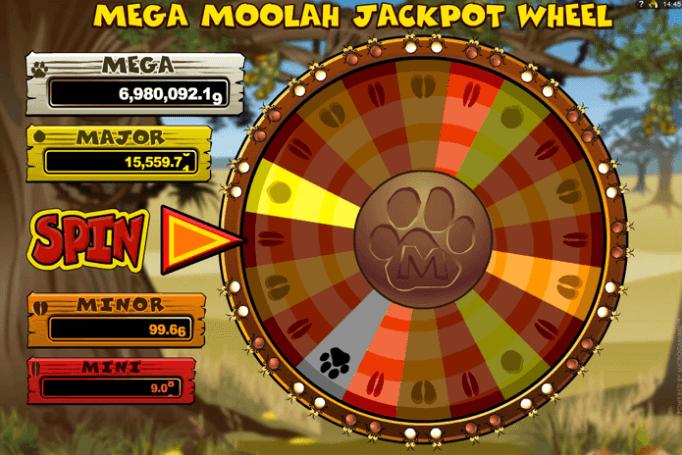 Jackpot Mega Moolha Wheel Of Fortune