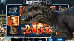 Découvrez la machine à sous Jurassic World™