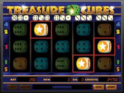 Le Mystery Win Dice Slot Treasure Cubes