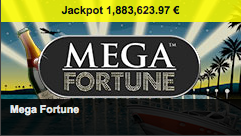 La machine à sous Mega Fortune