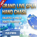 Tounoi poker live à Split