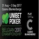 Championnat Poker Unibet Belgique 2017