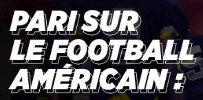 Parier sur le football Américain
